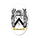Villerme 35x21 Oval Wall Decal