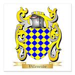 Villeneuve Square Car Magnet 3