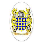 Villeneuve Sticker (Oval 10 pk)