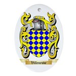 Villeneuve Oval Ornament