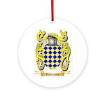 Villeneuve Round Ornament