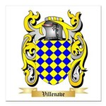 Villenave Square Car Magnet 3