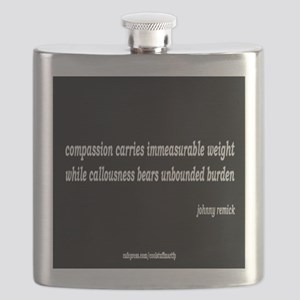 compassion and callousness Flask