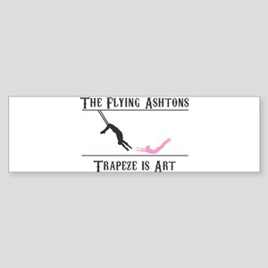 The Flying Ashtons Bumper Sticker