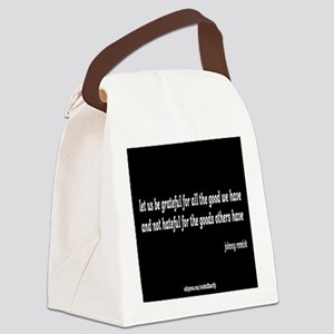 the good we have Canvas Lunch Bag