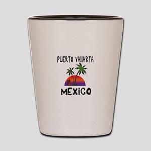 Puerto Vallarta Mexico Shot Glass