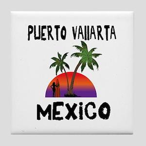 Puerto Vallarta Mexico Tile Coaster