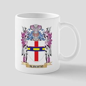 Alberto Coat of Arms (Family Crest) Mugs