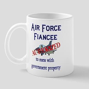 Air Force Fiancee Authorized Mug