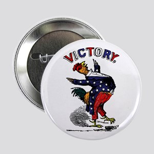 """Victory Rooster 2.25"""" Button"""