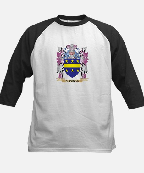 Alfonso Coat of Arms (Family Crest Baseball Jersey