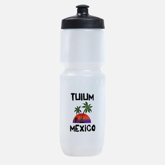 Tulum Mexico Sports Bottle