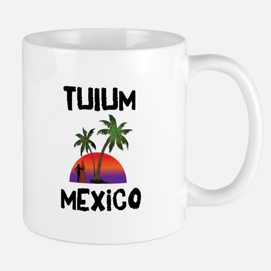 Tulum Mexico Mugs