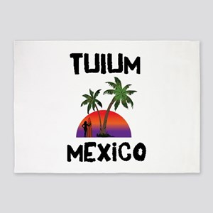 Tulum Mexico 5'x7'Area Rug