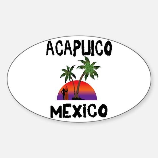 Acapulco Mexico Decal