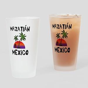 Mazatlan Mexico Drinking Glass