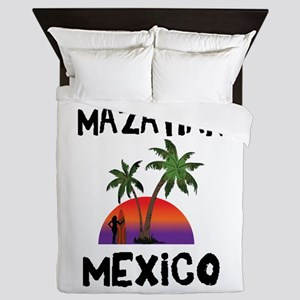 Mazatlan Mexico Queen Duvet