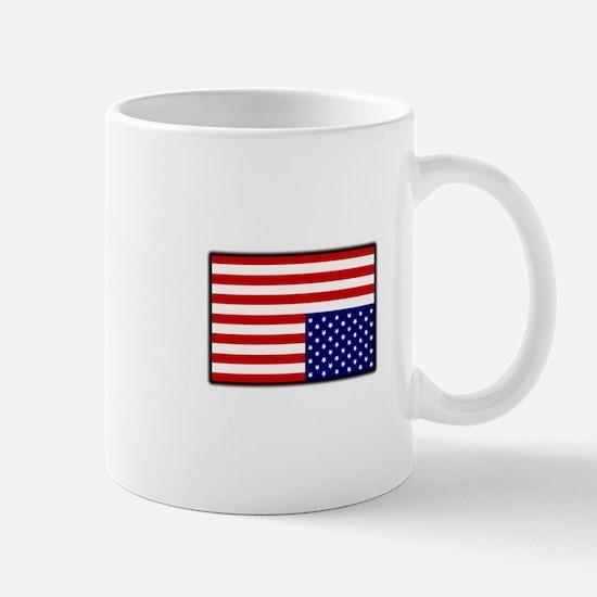 DISTRESSED AMERICAN FLAG Mug