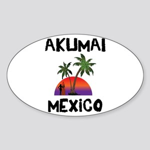 Akumal Mexico Sticker