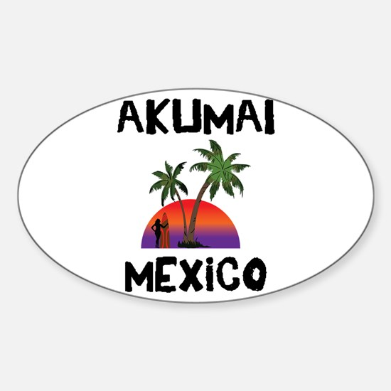 Akumal Mexico Decal