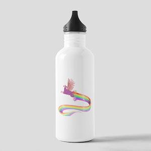 Allamacorn Rainbow Stainless Water Bottle 1.0L