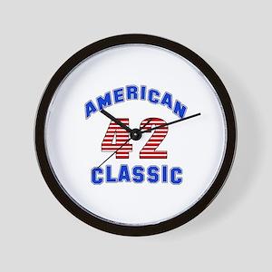 American Classic 42 Birthday Wall Clock