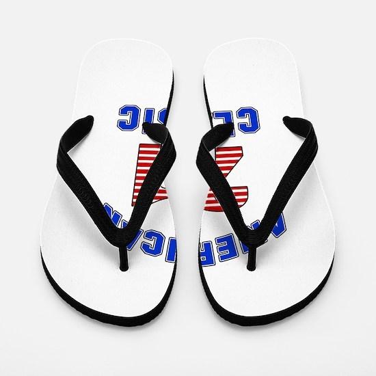 American Classic 21 Birthday Flip Flops
