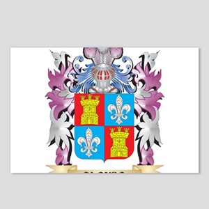 Alonso Coat of Arms (Fami Postcards (Package of 8)