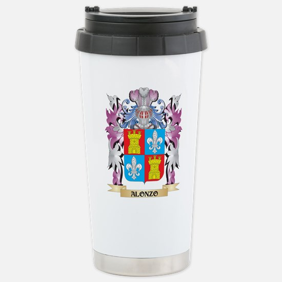 Alonzo Coat of Arms (Fa Stainless Steel Travel Mug