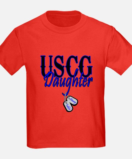 USCG Dog Tag Daughter T