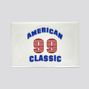American Classic 99 Birthday Rectangle Magnet