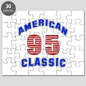 American Classic 95 Birthday Puzzle