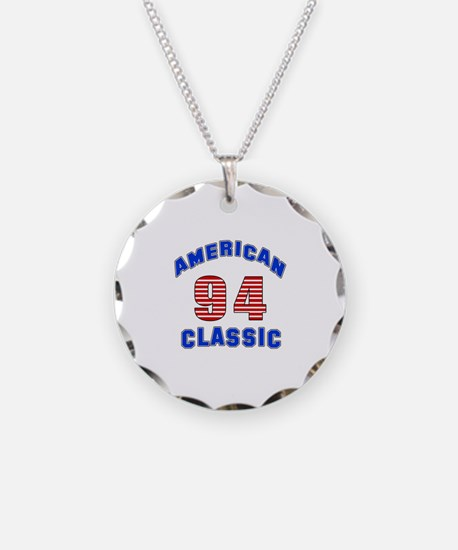 American Classic 94 Birthday Necklace