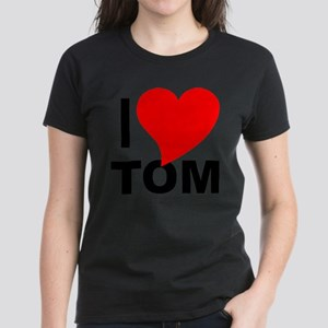I Love Tom Women's Dark T-Shirt