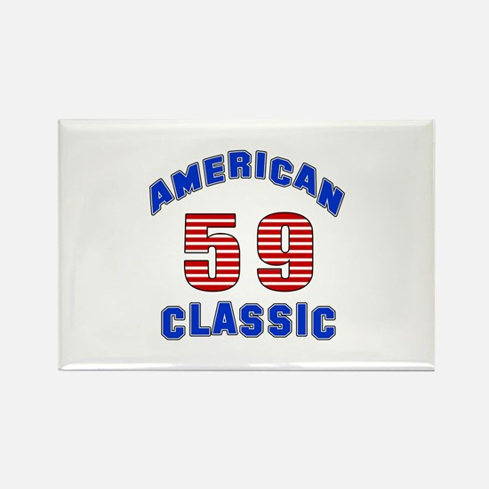 American Classic 59 Birthday Rectangle Magnet