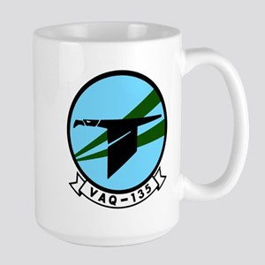 VAQ 135 Black Ravens Large Mug