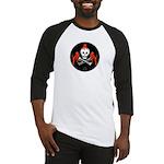 Skull with Devils Baseball Jersey