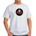 Skull with Devils Light T-Shirt