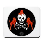 Skull with Devils Mousepad