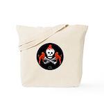 Skull with Devils Tote Bag