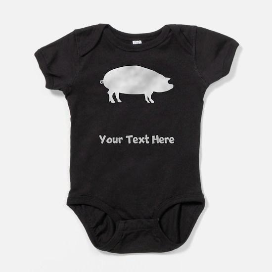 Pig Baby Bodysuit