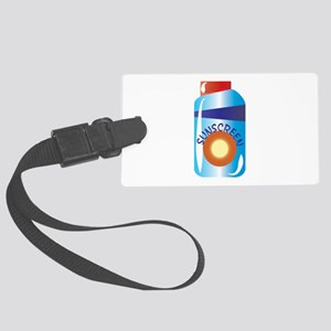 Sunscreen Luggage Tag