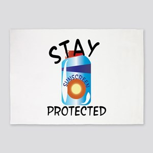 Stay Protected 5'x7'Area Rug