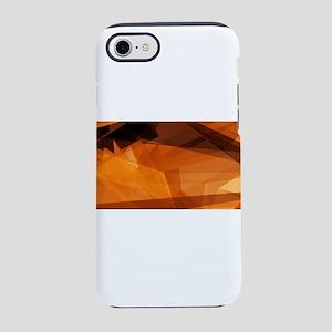 Orange Abstract Ba iPhone 8/7 Tough Case