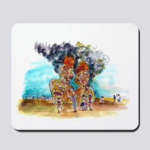 Burning Man Mousepad