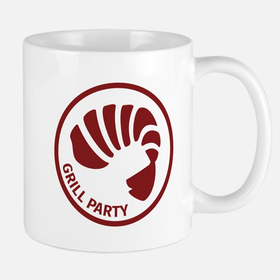 Shrimp Grill Party Mugs