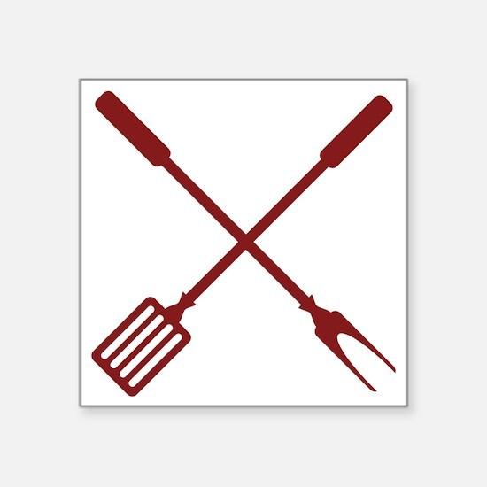 Grilling Utensils Sticker