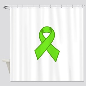 Lymphoma Ribbon Shower Curtain