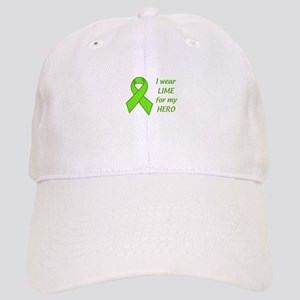 Wear Lime For My Hero Baseball Cap