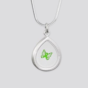 Lymphoma Butterfly Necklaces